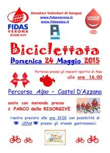 Biciclettata 2015