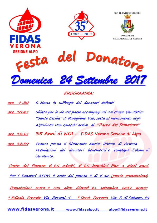 Festa donatore